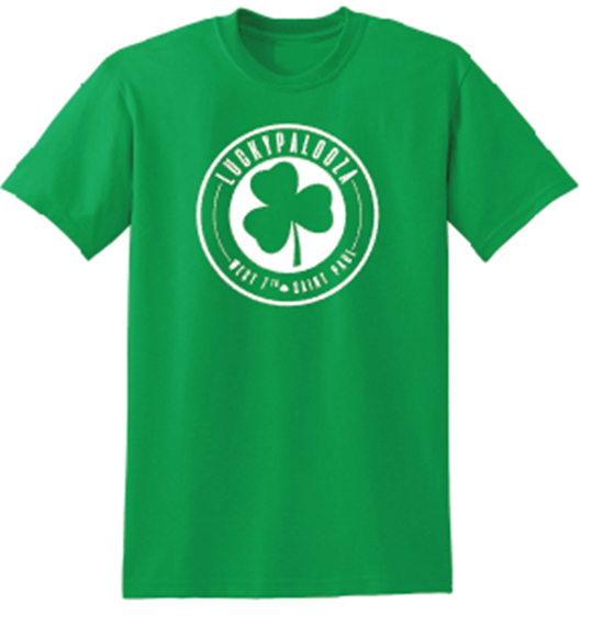 Picture of luckypalooza T-shirt (c logo)