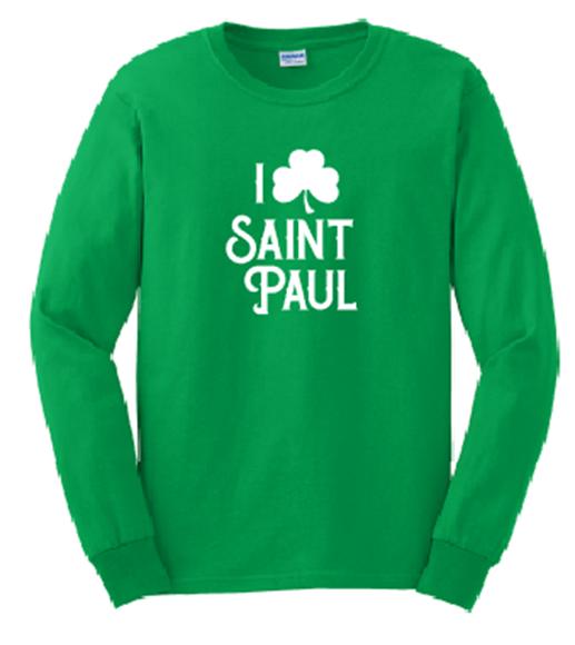 Picture of I Shamrock St Paul Long Sleeve Shirt