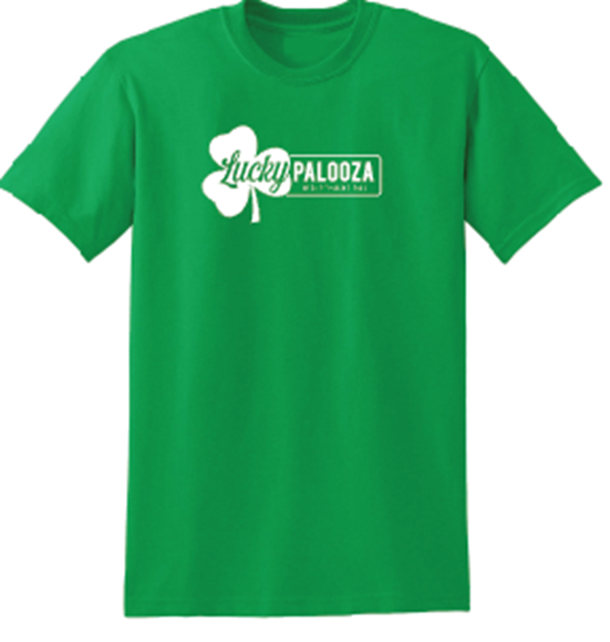 Picture of luckypalooza T-shirt